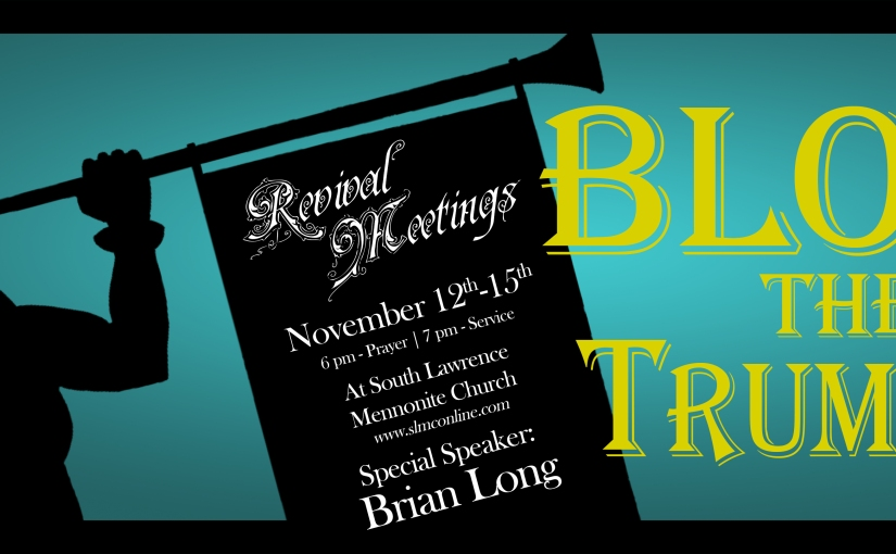 Blow the Trumpet: BrianLong