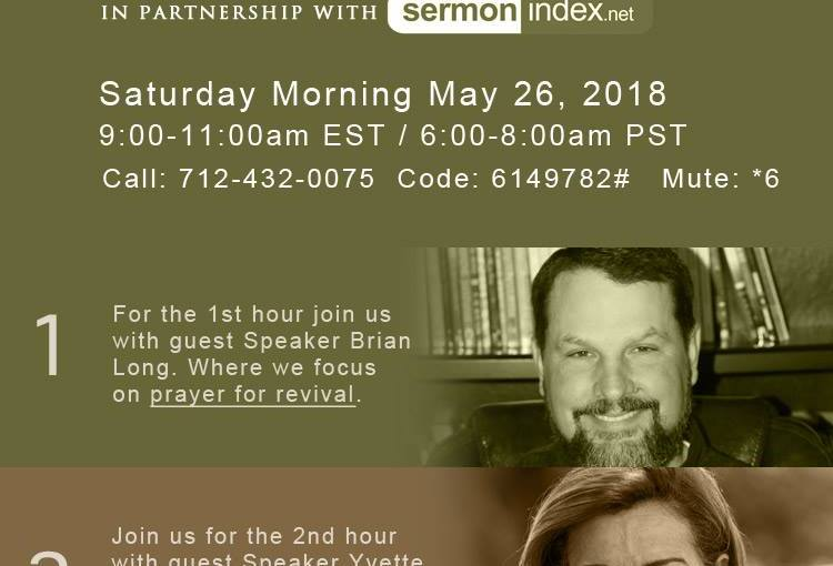 SermonIndex Prayer Call: Brian Long